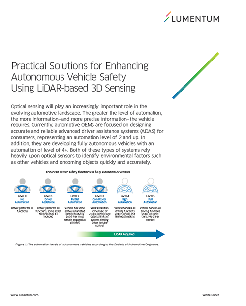 Practical Solutions for Enhancing Autonomous Vehicle Safety Using LiDAR-based 3D Sensing