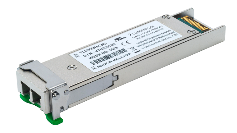 Tunable Multiprotocol XFP Optical Transceiver, LambdaFLEX Negative Chirp