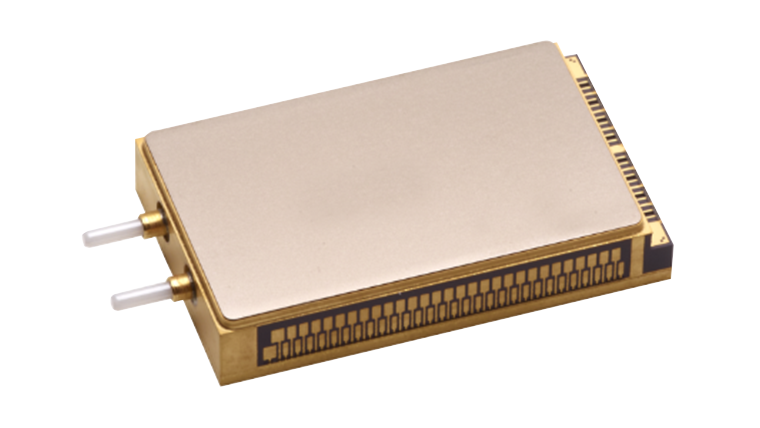 Integrated Coherent TROSA up to 69 Gbaud Symbol Rate