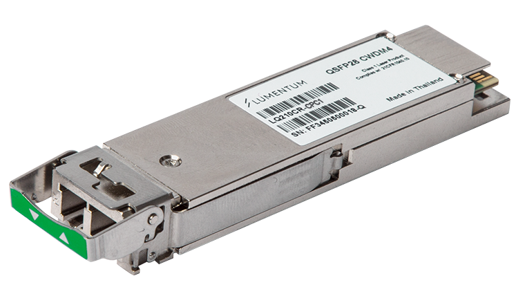 QSFP28 CWDM4 Optical Transceiver – Up to 2 km reach for 100G FEC-enabled systems