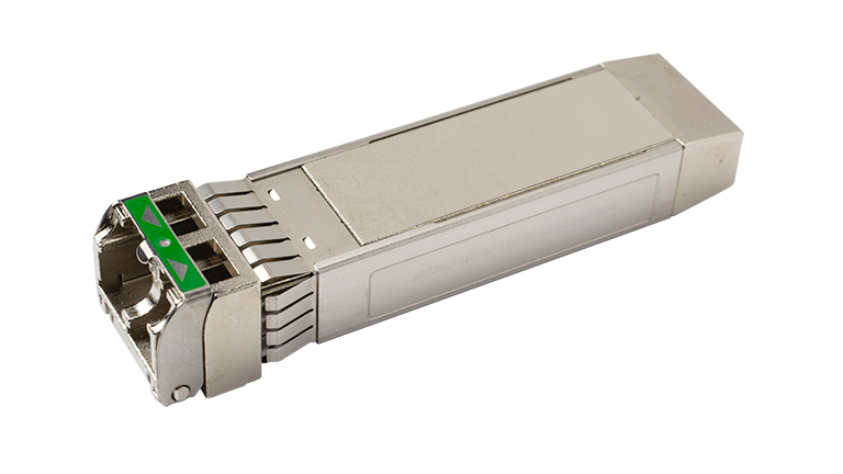 Tunable SFP+ Optical Transceiver with Limiting Electrical Interface