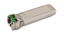 Tunable SFP+ Optical Transceiver with Linear Electrical Interface
